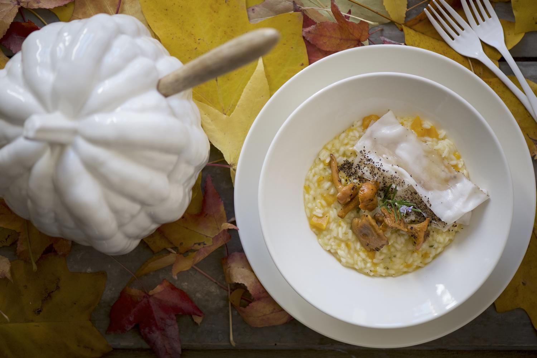 C risotto zucca lardo