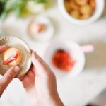 tartelletta con crema di vaniglia e fragole al sambuco