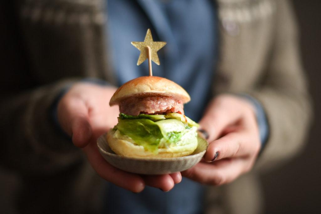 mini hamburger di cotechino