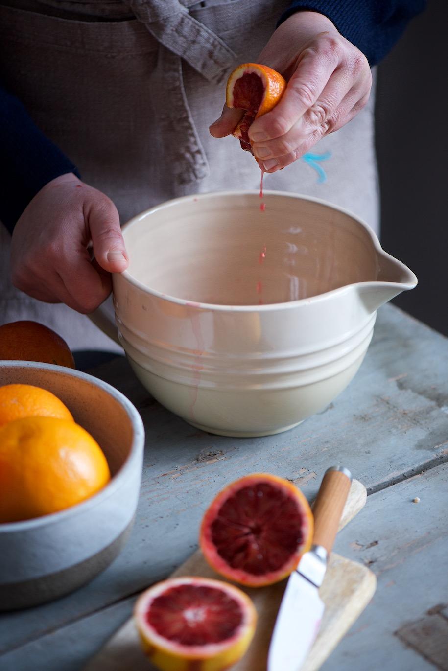 ciambellone alle arance e semi di papavero