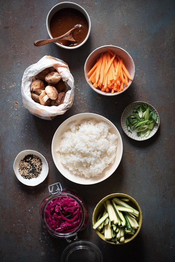 ingredienti bibimbap
